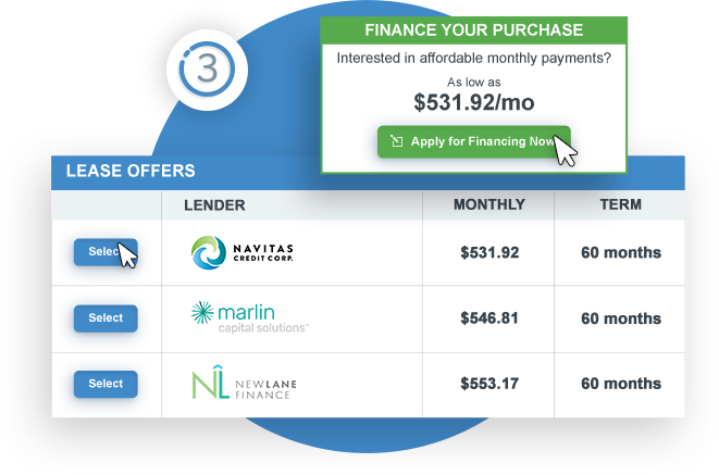 Approve Finance Option